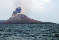 Visiting Krakatau Islands with Catastrophic Volcanic Eruption