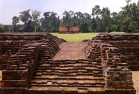Visitando el templo Muara Jambi