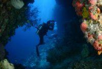 Ambon, Hukurila Cave in underwater in Ambon