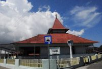 Ambon, The antique and classic old mosque in Ambon
