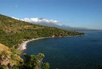 Visitando la playa de Amed Bali