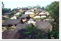 Visite de l'ancien village de Baduy Rangkasbitung Banten