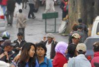 Besuch der Stadt Bandung mit vielen Fabrikverkaufsstellen