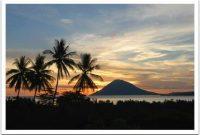 Bunaken, Beautiful sunset in Bunaken