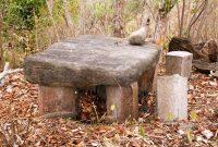 Flores, Prehistoric artefak, Stone Relic in Flores Komodo Island.
