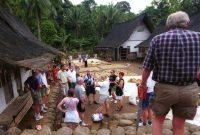 Visitando Kampung Naga ou vila do dragão Tasikmalaya