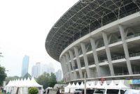 Visitando o Complexo Esportivo Gelora Bung Karno Jacarta