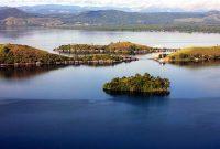 Visiting Lake Sentani