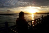 Visiting Mahakam River