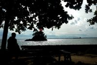 Visitando la playa de Melawai Balikpapan