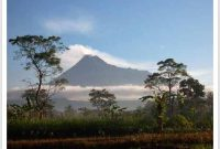 Visiting Mount Merapi Yogyakarta