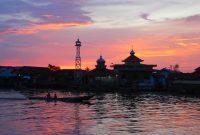 Pangkalan Bun the city on the Arut River 1