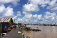 Pangkalan Bun the city on the Arut River 2