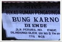 Visitando a casa de Soekarno em Ende Flores