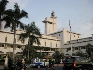 Visite de la ville de Surabaya Java Est