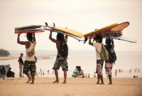 Surf at Kuta Beach, Bali