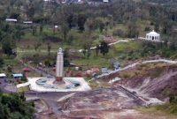 Visitando a colina do amor perto de Manado