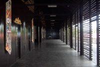 Besuch des Langhauses der Dayak