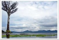 Visitando el lago Tondano