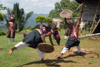 Traditional War Dance in Flores