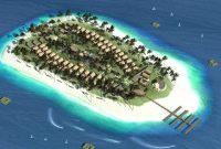Visitando a ilha de Umang Resort Banten