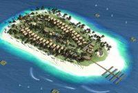 Besuch des Umang Island Resort Banten