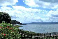 Visiting Lake Tondano