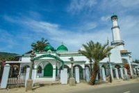 Visitando la mezquita Masjid Hunto Sultan Amay Gorontalo