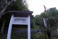 Visite du château d'Otanaha Gorontalo