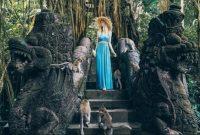 Visitando a Floresta dos Macacos de Ubud em Bali