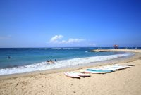 Visitando la playa de Sanur Bali